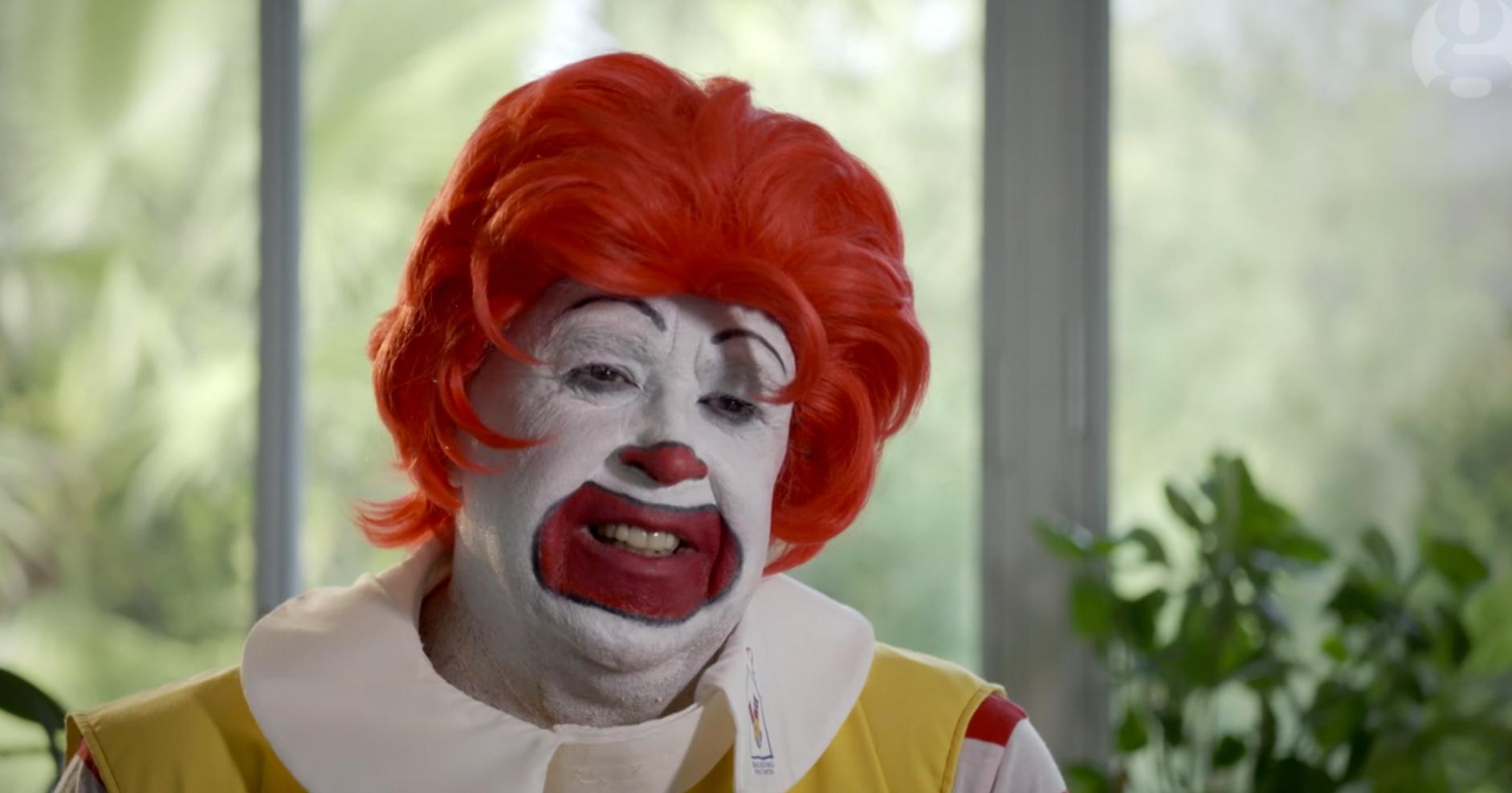 Ronald McDonald – number of actors