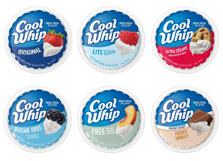 Cool Whip flavors