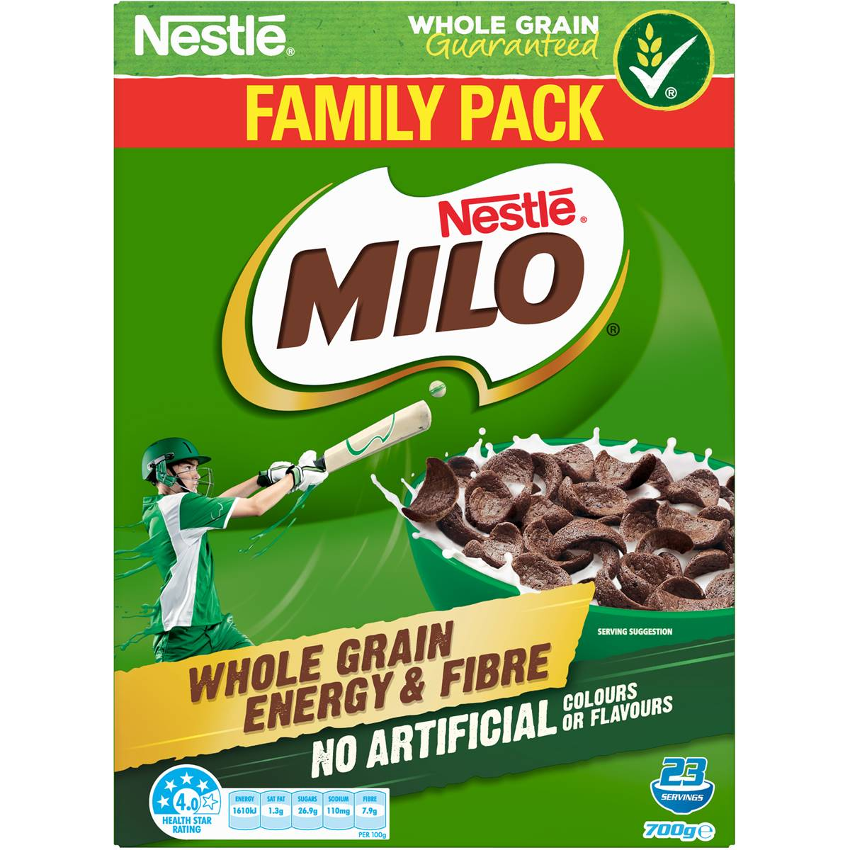 Milo Cereal