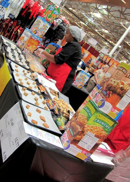 Costco samples without membership