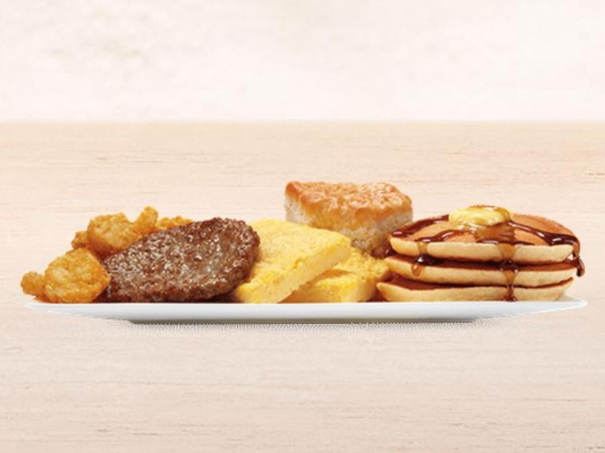 BK Ultimate Breakfast Platter