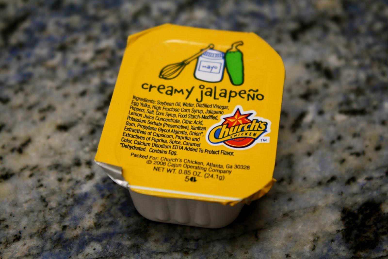 Church's Creamy Jalapeno Sauce