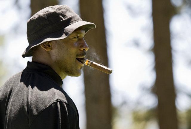 Gatorade Provides Michael Jordan with Cigars