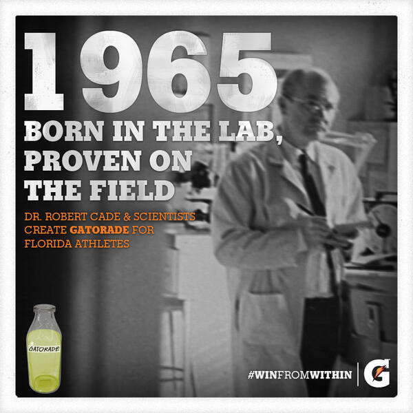 Gatorade was Invented in a University