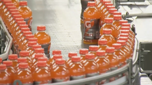 Gatorade was on Forbes Most Powerful Brands List