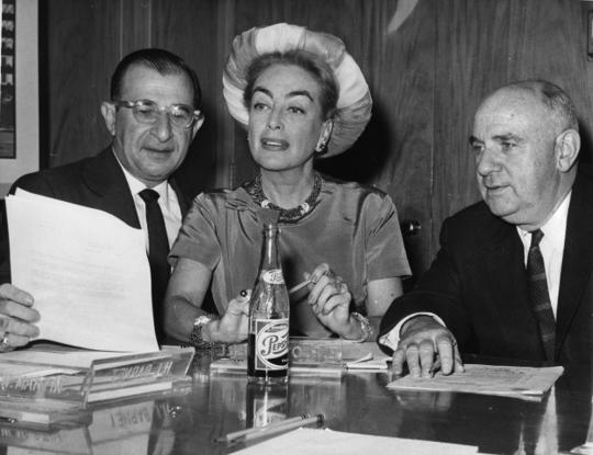 Joan Crawford and Pepsi have a long History