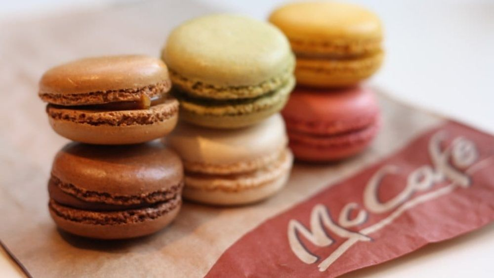 Macarons at McDonald's France