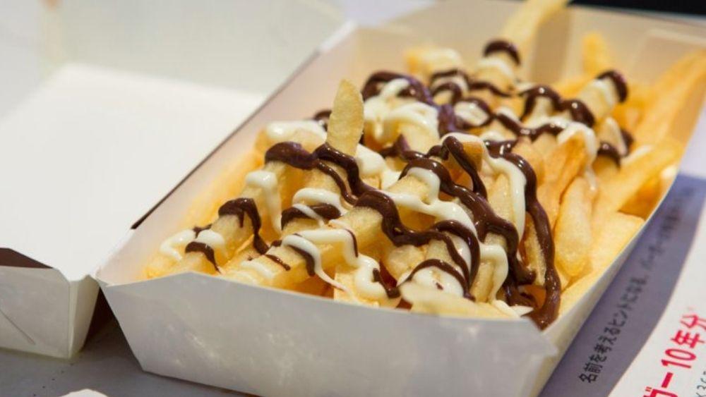 McChoco Potato McDonald's Japan