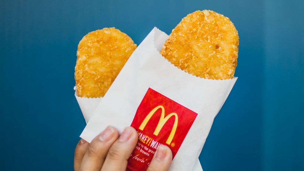 well-done hash browns McDonald's