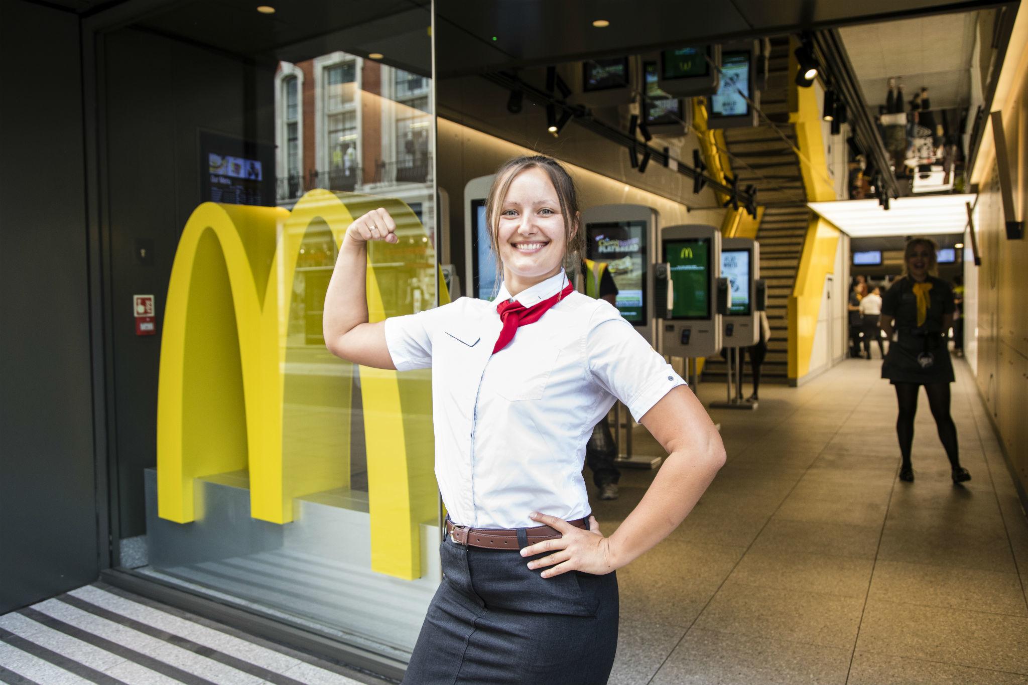 McDonald's-manager