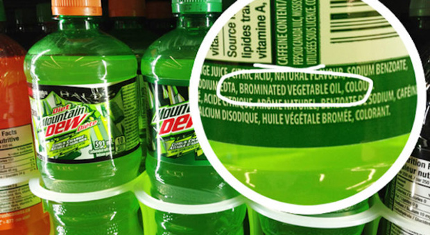 Mountain Dew is banned in over one hundred countries