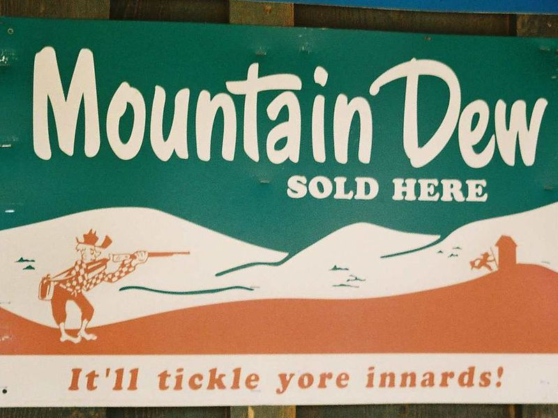 Mountain Dew is named after a slang term