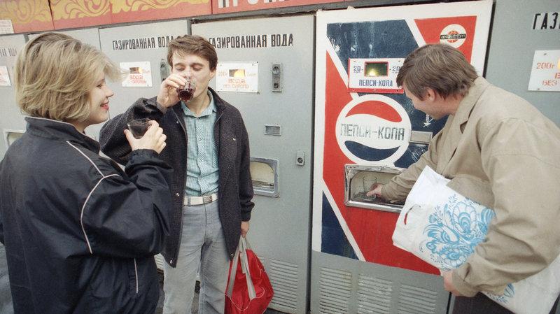 Pepsi in Russia