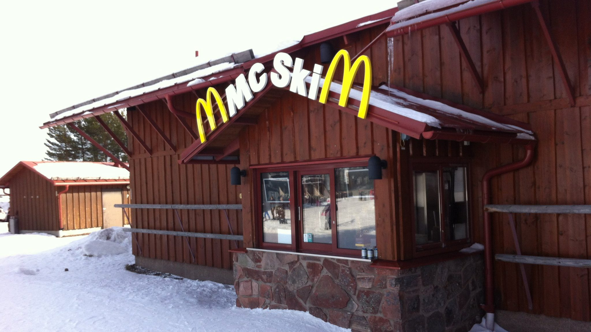 McSki McDonald's in Lindvallen, Sweden