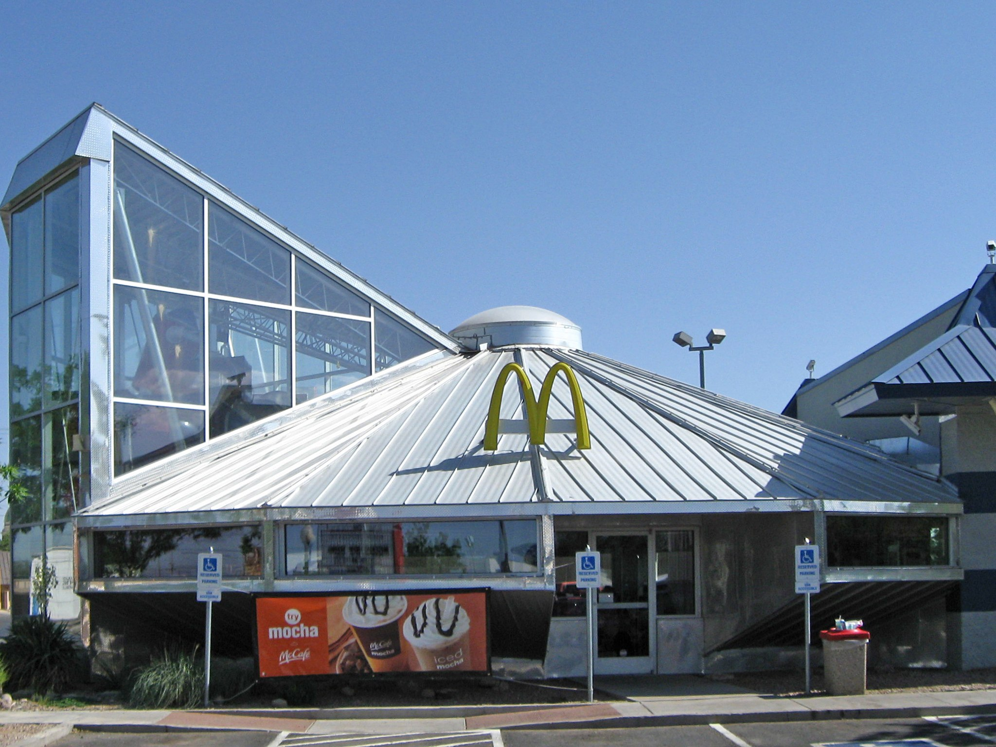 spaceship McDonald's outlet