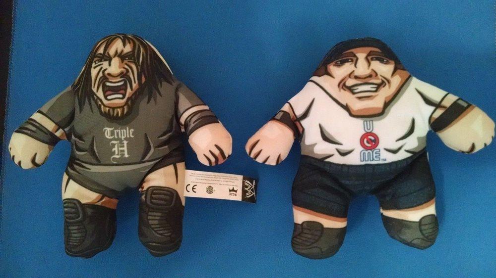 WWE Plushies