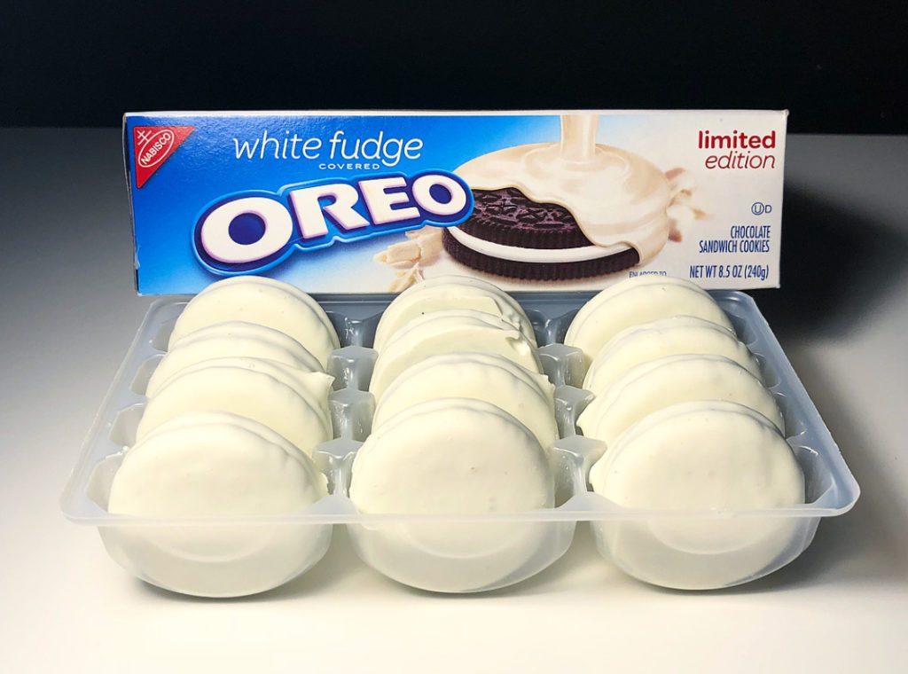 White Fudge Oreos