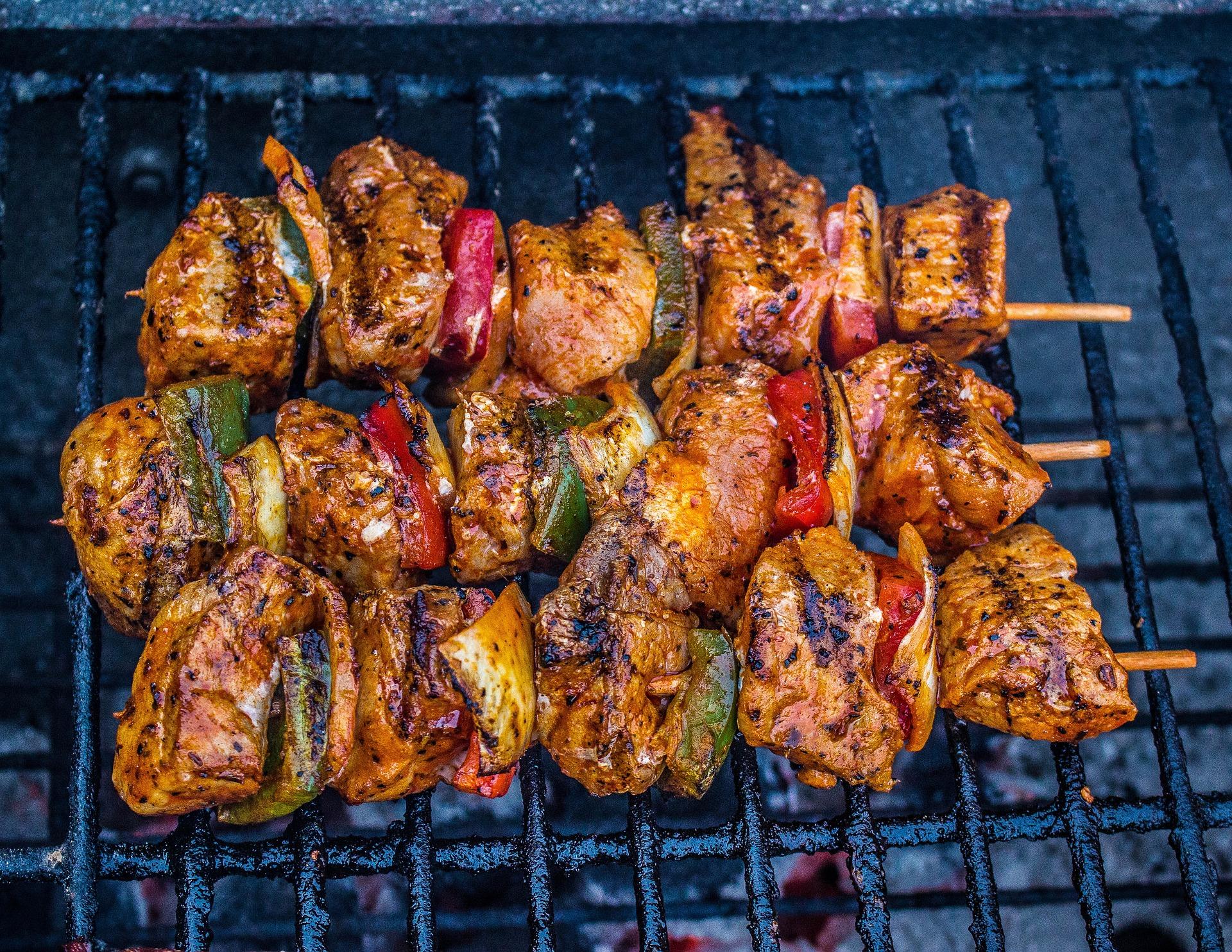 meat barbecue skewers