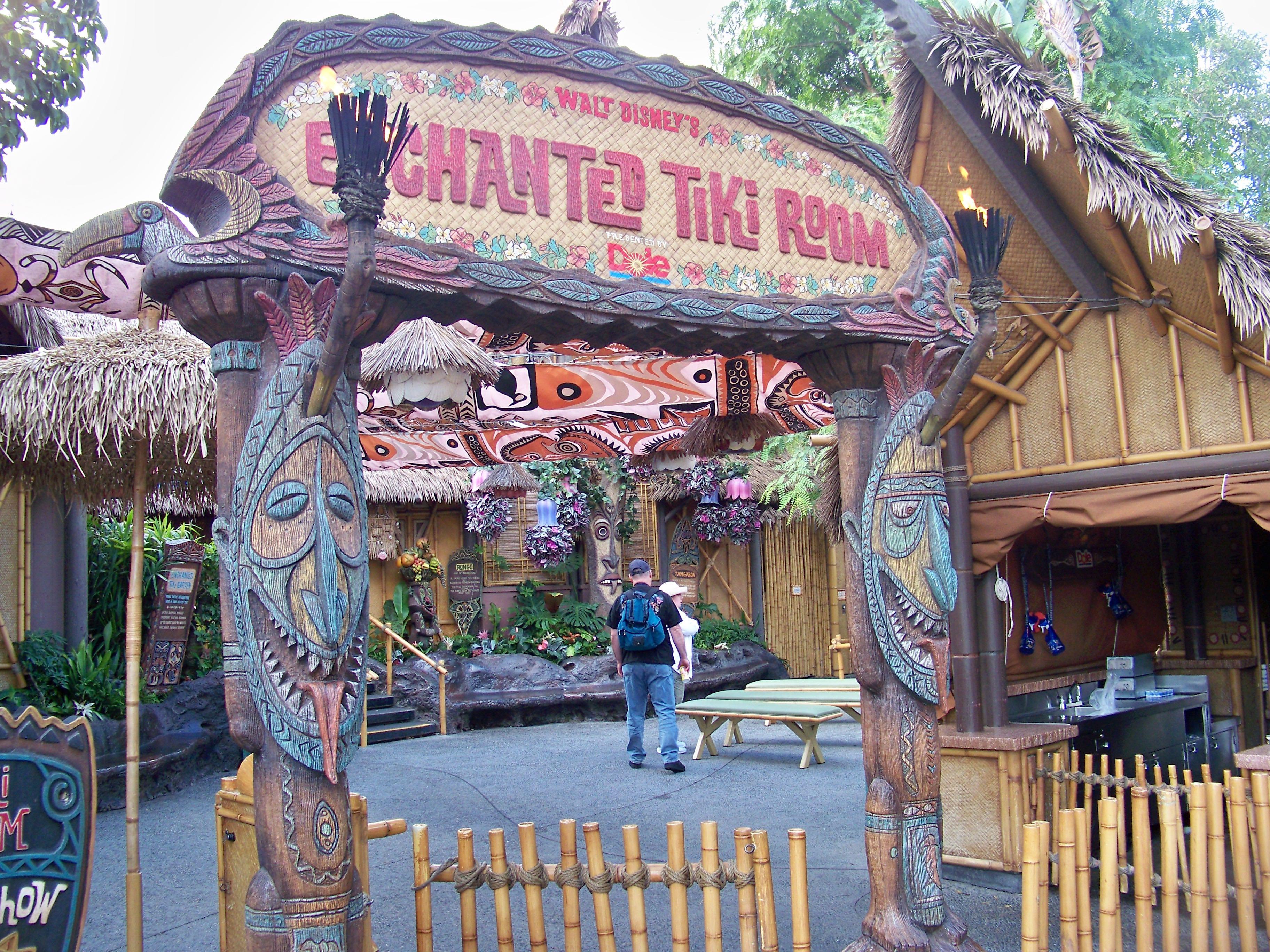The Enchanted Tiki Room