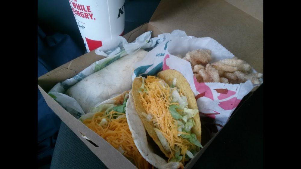 loaded nacho taco box taco bell