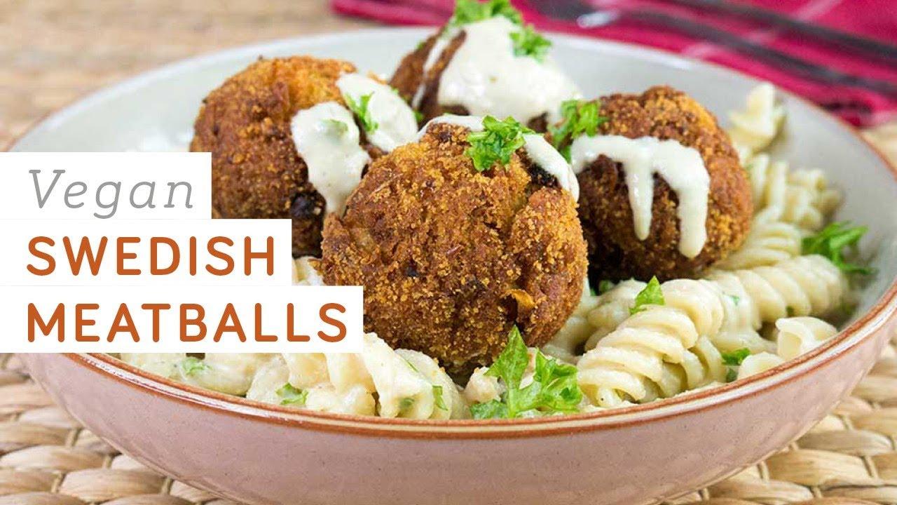 Vegan meatballs are one alternative