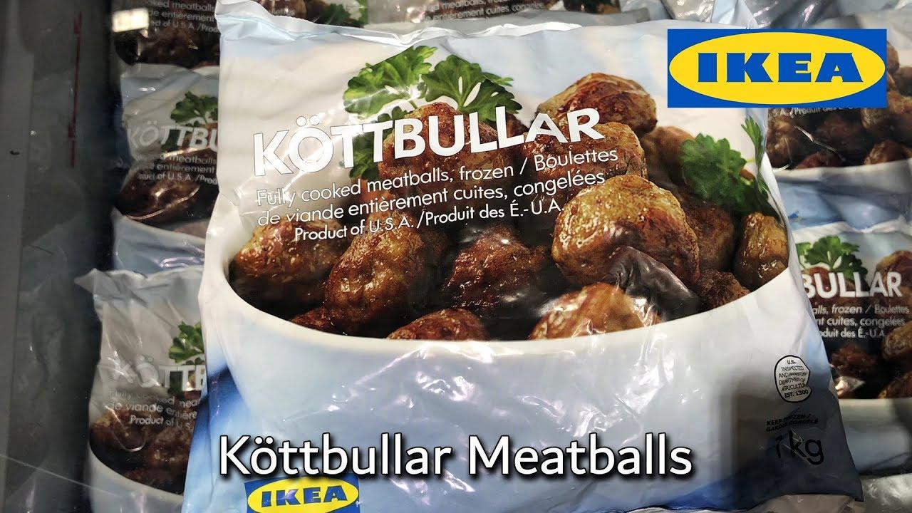 IKEA frozen meatballs for sale.