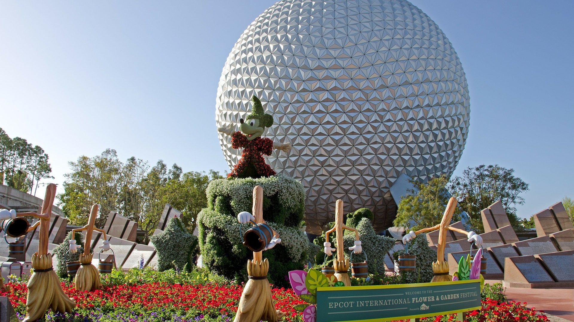 Epcot Center at Disney World