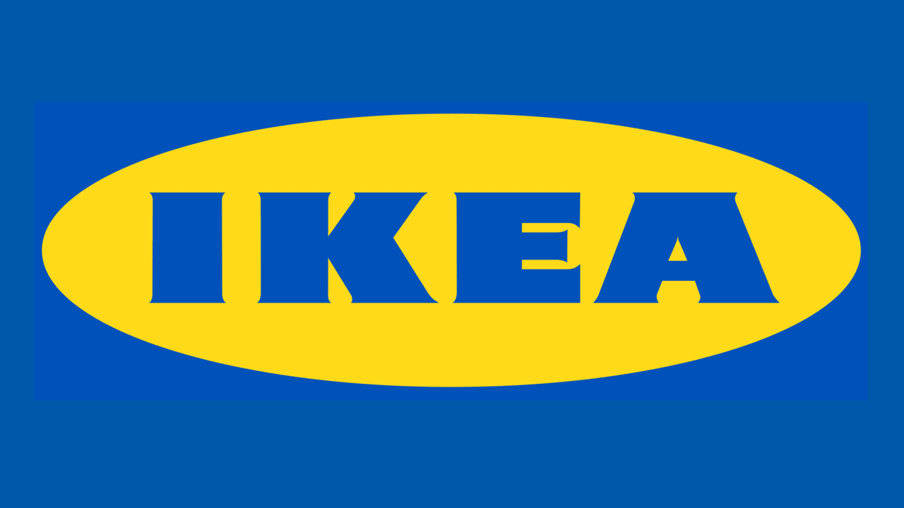 The IKEA logo is known around the world.