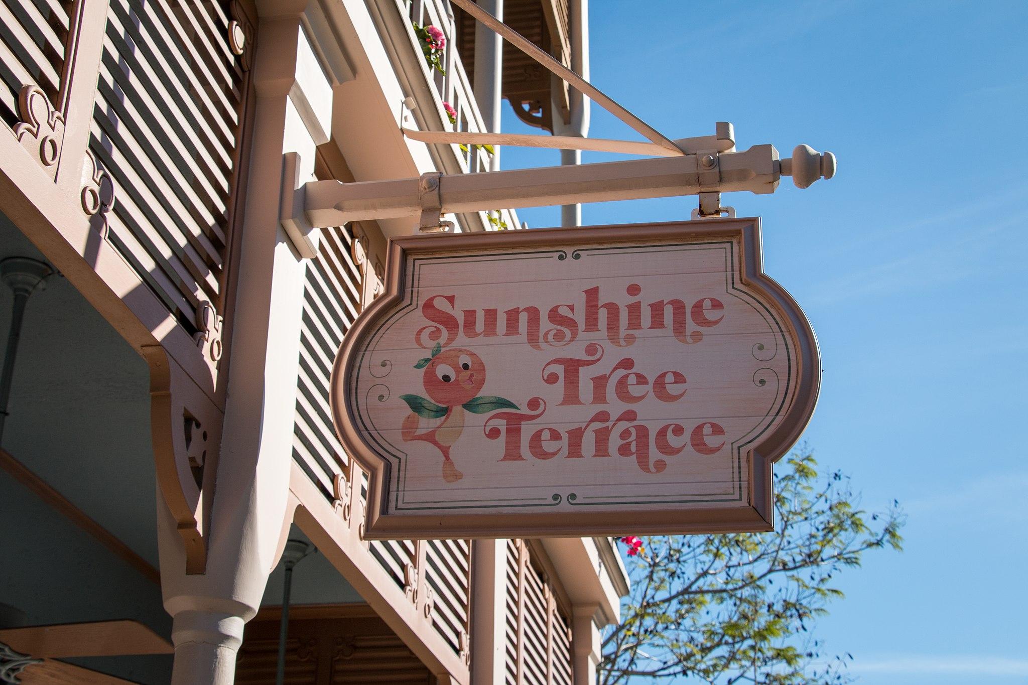 Sunshine Tree Terrace board