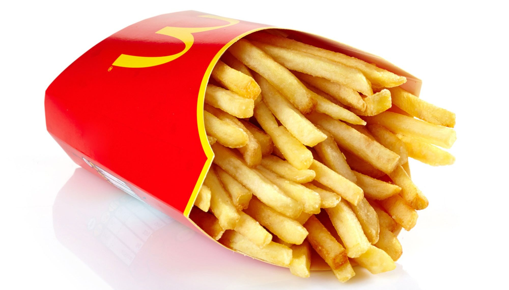 Unsalted McDonalds French fries