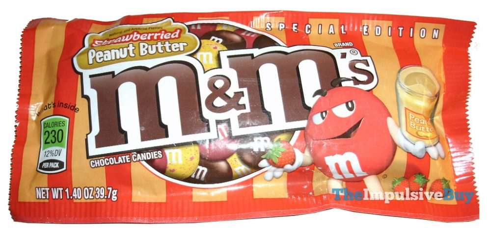 strawberried peanut butter M&M's
