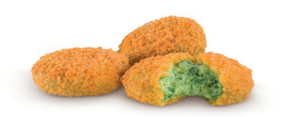 McDonalds Spinach and Parmesan Nuggets Italy