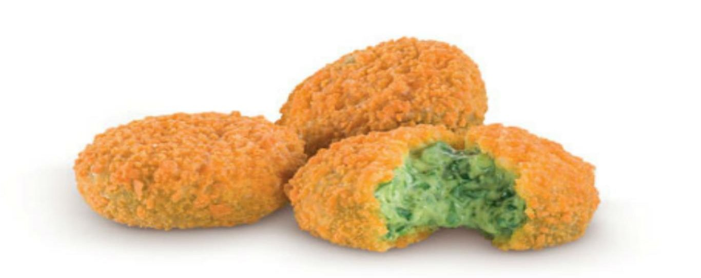 Spinach and Parmesan Nuggets