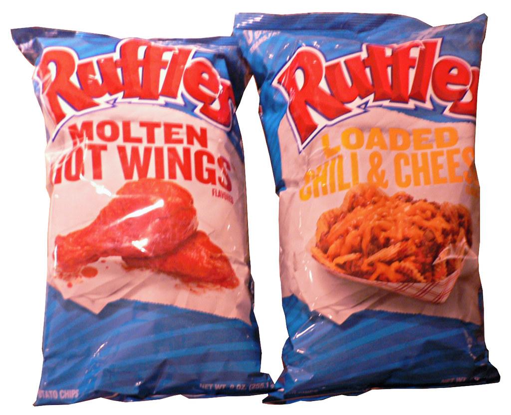 Ruffles Molten Hot Wings and Ruffles Loaded Chili & Cheese