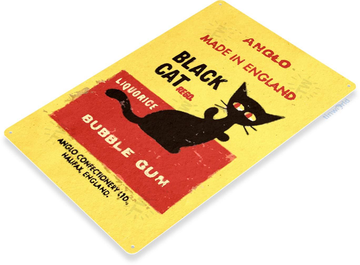 Black Cat Bubble Gum