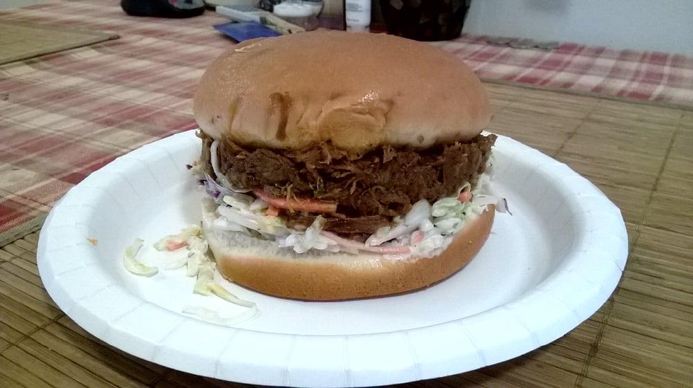 BBQ brisket sandwich costco