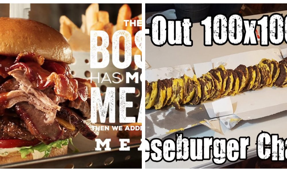 10 Burgers Only America Was CRAZY Enough To Invent! Part 2