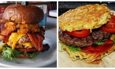 Burgers come in all shapes and sizes.