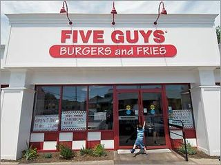 Five Guys almost did not Franchise