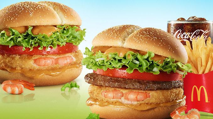 McDonald's Offers New Shrimp Burgers In South Korea