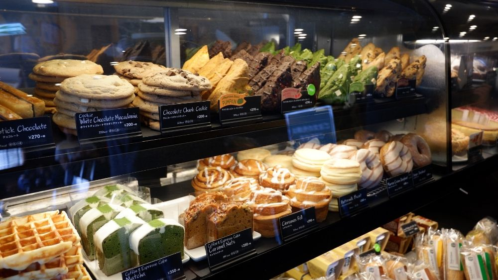 Starbucks baked treats and pastries