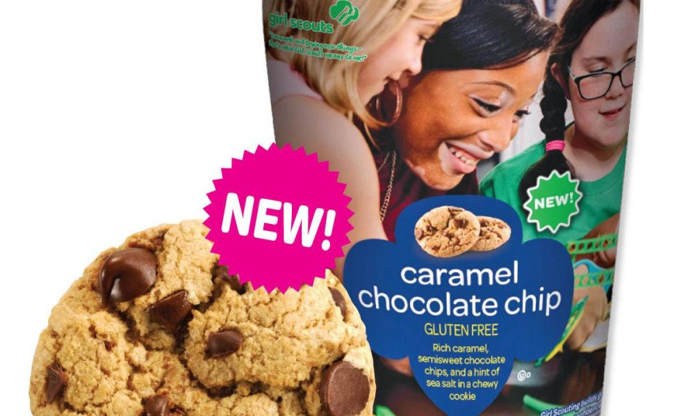 caramel chocolate chip girl scout cookies