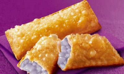 Taro Pie purple background
