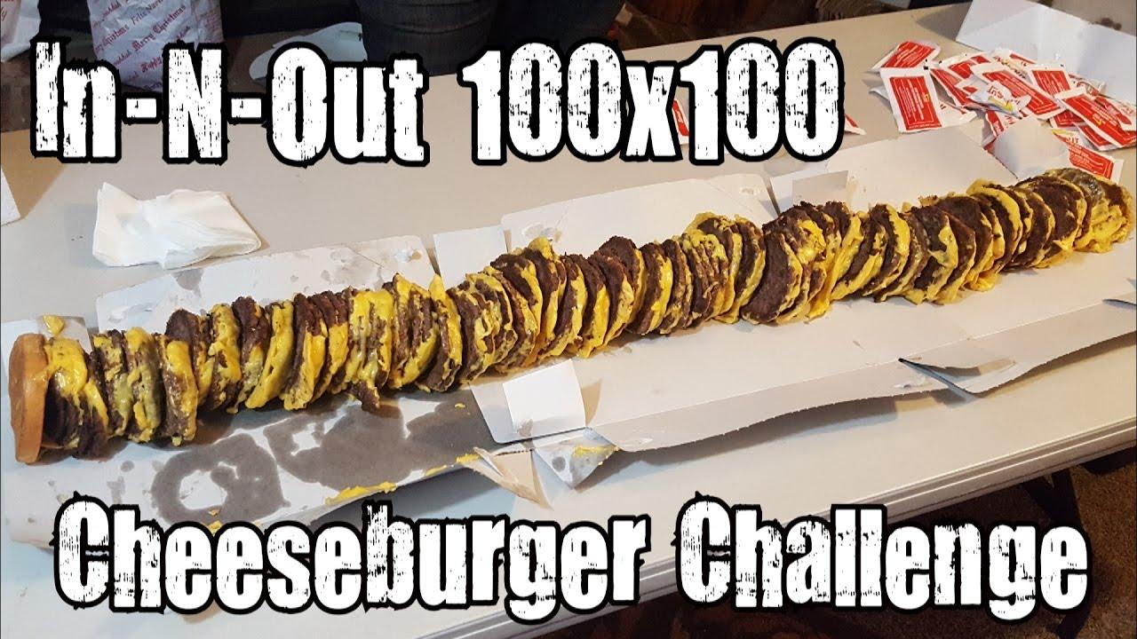 This burger has 100 beef patties