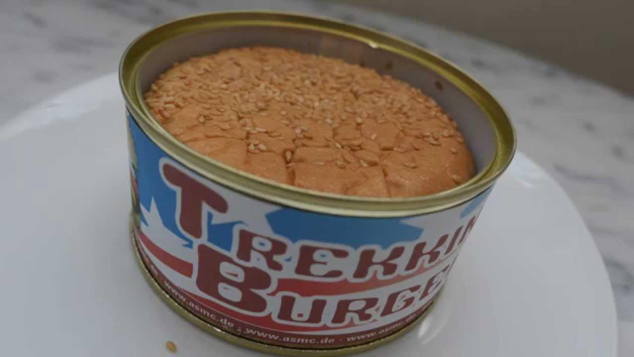 Hamburger in a can