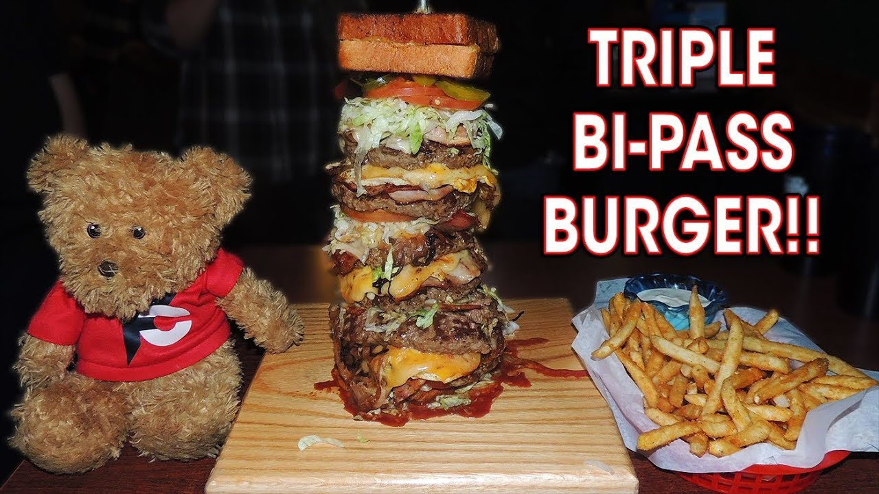 This burger is way over the top.