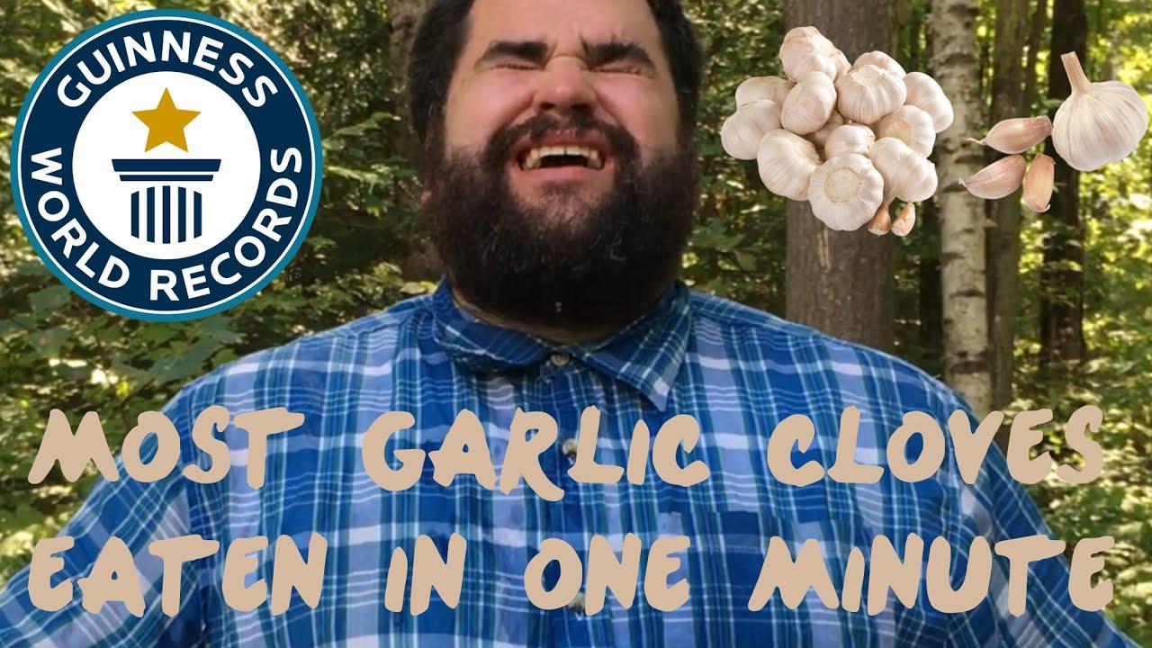 most-garlic-cloves-eaten-in-one-minute