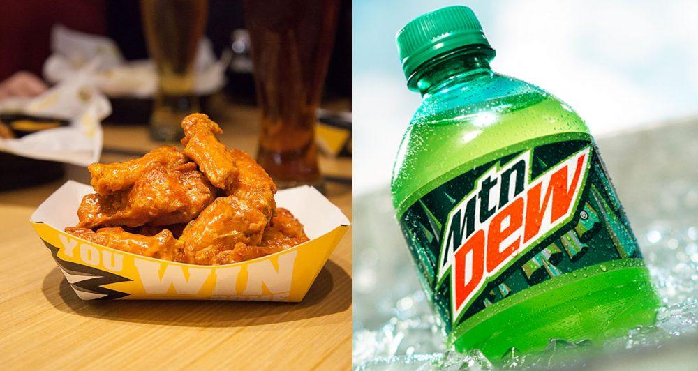 mountain dew wing sauce