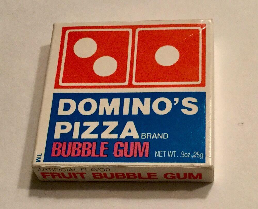 Dominos Pizza Bubble Gum