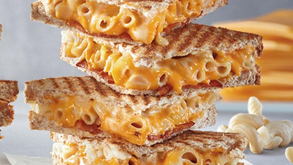 Bacon Macaroni and Cheese Toastie McDonalds